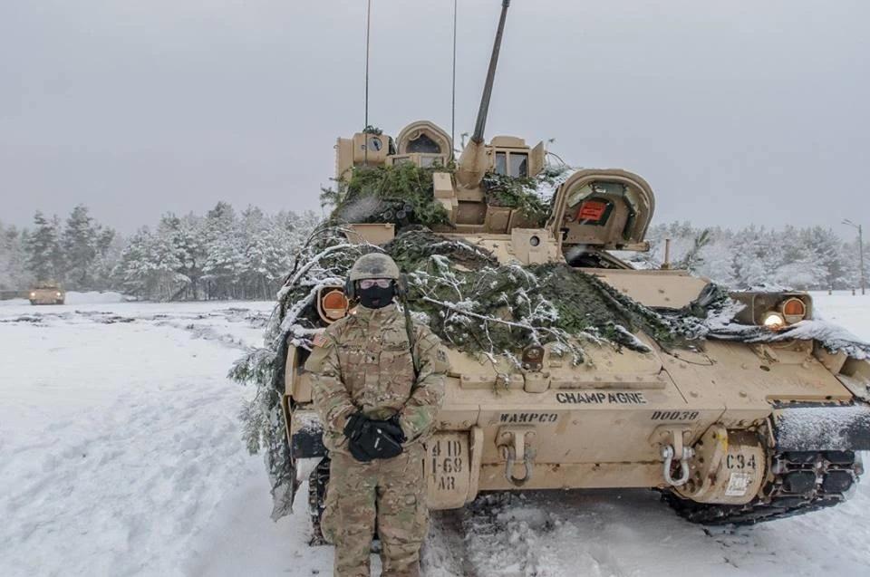 amerykańskie czołgi
