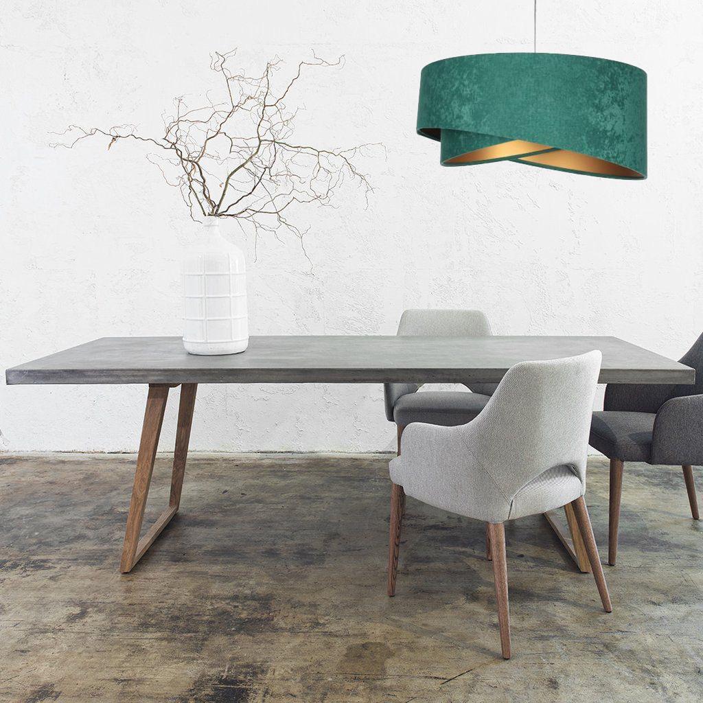 zielona-lampa-wisząca-do-salonu-nad-stół