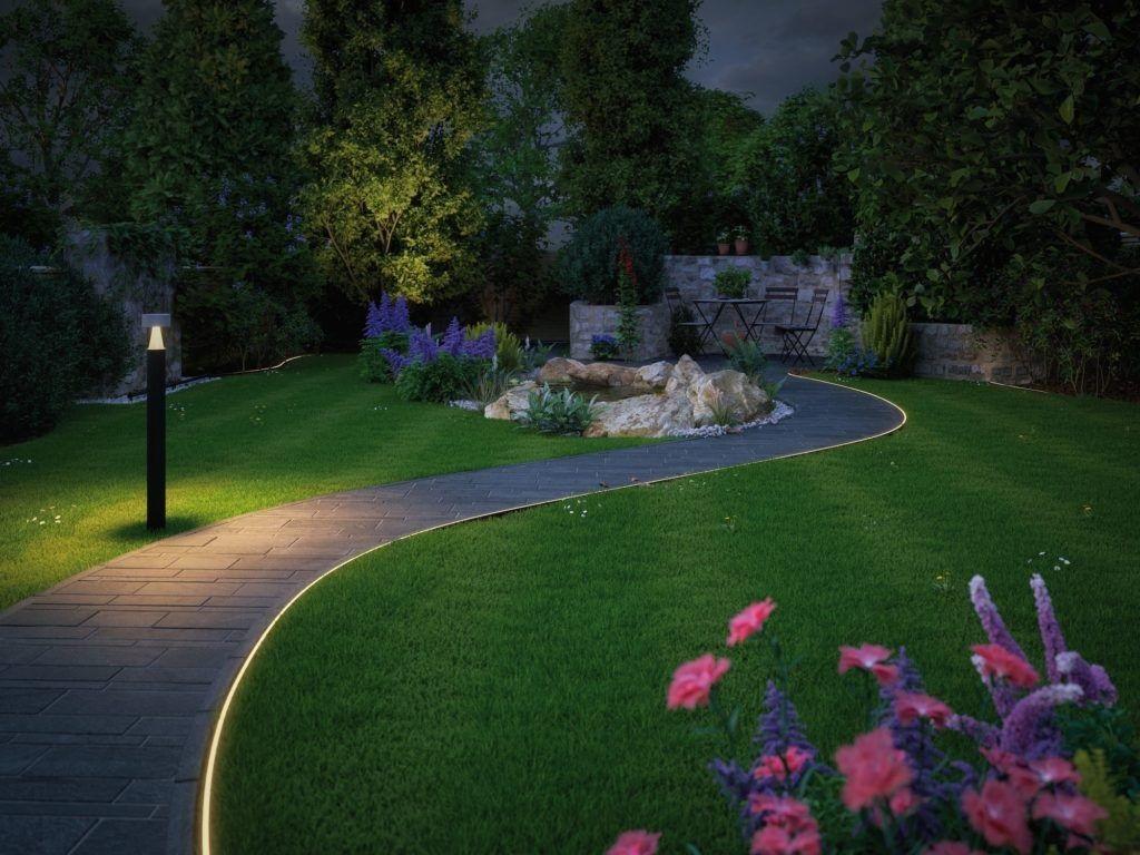 oświetlenie do ogrodu - słupki LED